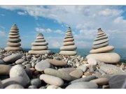 Flis foto tapeta Kamenje na plaži MS50204 | 375x250 cm Foto tapete