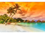 Flis foto tapeta Polinezija MS50211 | 375x250 cm Foto tapete