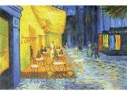 Flis foto tapeta Terasa kafića Od Vincenta Van Gogha MS50251 | 375x250 cm Foto tapete