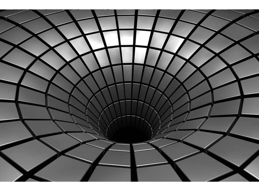 Flis foto tapeta 3D srebrni zaljev MS50278   375x250 cm - Foto tapete
