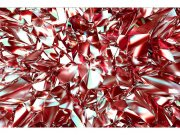 Flis foto tapeta Crveni kristal MS50281 | 375x250 cm Foto tapete