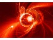 Flis foto tapeta Crvena apstrakcija MS50287 | 375x250 cm Foto tapete