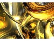Flis foto tapeta Zlatna apstrakcija MS50291 | 375x250 cm Foto tapete