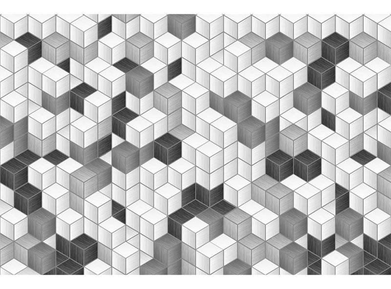 Flis foto tapeta Blok kvadrata MS50301 | 375x250 cm - Foto tapete