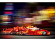 Flis foto tapeta Utrkaní avto MS50309 | 375x250 cm Foto tapete