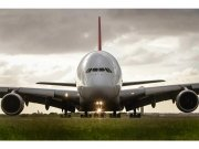 Flis foto tapeta Airbus MS50318 | 375x250 cm Foto tapete