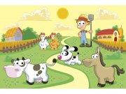 Flis foto tapeta Životinje iz farme MS50334 | 375x250 cm Foto tapete