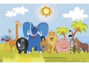Flis foto tapeta Životinje u Africi MS50338 | 375x250 cm Foto tapete