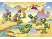 Flis foto tapeta Krokodili MS50344 | 375x250 cm Foto tapete