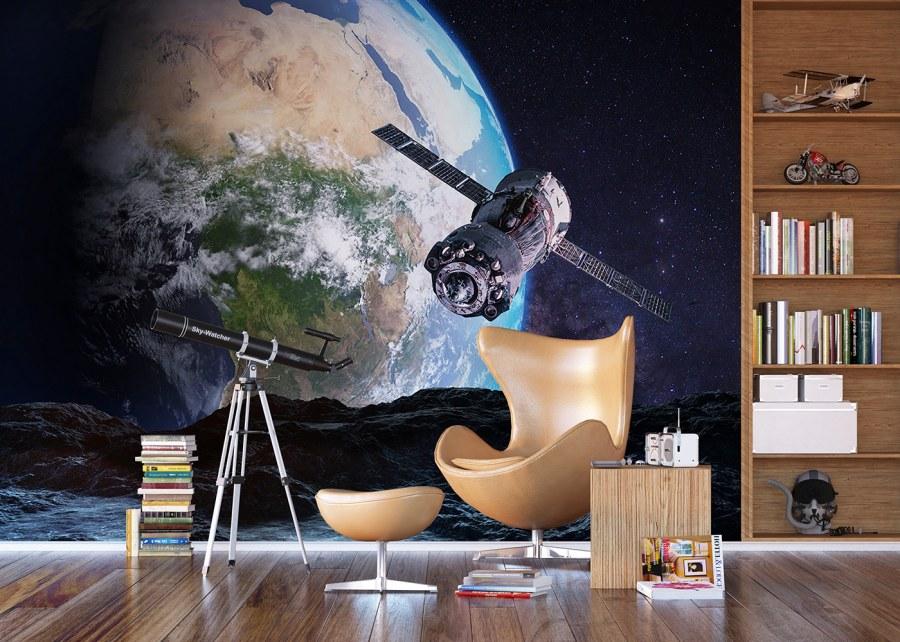 Flis foto tapeta Svemirska stanica FTNXXL-1233 | 360x270 cm - Foto tapete