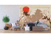 Flis foto tapeta Japanski vrt FTNXXL-1237 | 360x270 cm Foto tapete