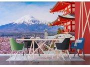 Flis foto tapeta Japanska planina FTNXXL-1238 | 360x270 cm Foto tapete