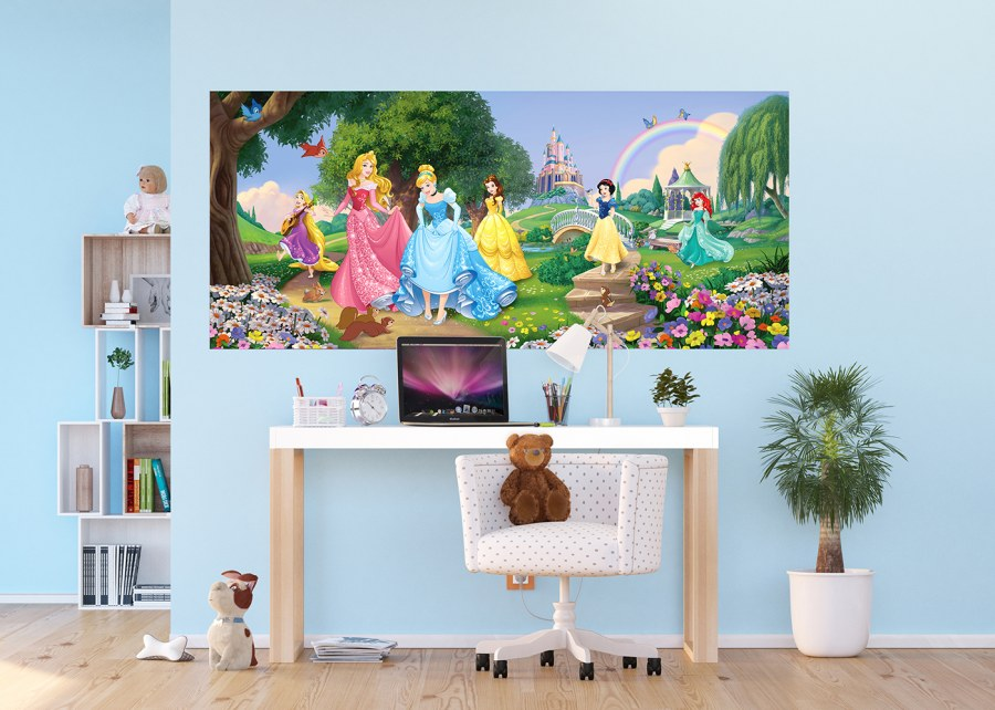 Flis foto tapeta Disney Princeze na livadi FTDNH-5378 | 202x90 cm - Foto tapete