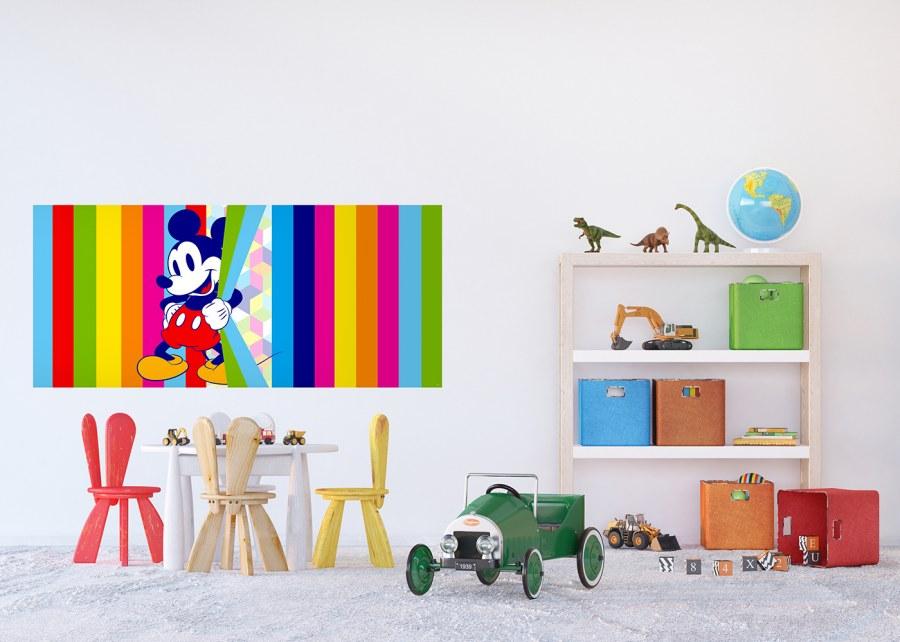 Flis foto tapeta Mickey Mouse Duga FTDNH-5380 | 202x90 cm - Foto tapete
