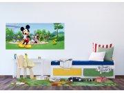 Flis foto tapeta Mickey Mouse u parku FTDNH-5382 | 202x90 cm Foto tapete