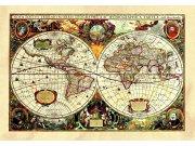 Samoljepljiva dekoracija Stara karta SM-3434, dimenzije 42,5 x 65 cm Naljepnice za zid