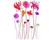 Samoljepljiva dekoracija Cvijeće SM-3438, dimenzije 42,5 x 65 cm Naljepnice za zid