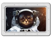 Samoljepljiva dekoracija Mačka astronaut SM-3443, dimenzije 42,5 x 65 cm Naljepnice za zid