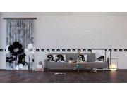 Dekorativni jastuk Crnobijelo cvijeće CN-3621, 45 x 45 cm Dekorativni jastuci