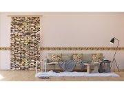 Dekorativni jastuk Smeđe kamenje CN-3624, 45 x 45 cm Dekorativni jastuci