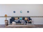 Dekorativni jastuk Brodski prozor CN-3627, 45 x 45 cm Dekorativni jastuci