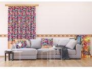 Foto zavjesa Šareni mozaik FCSL-7584, 140 x 245 cm Foto zavjese