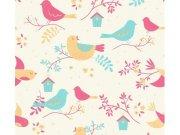 36756-2 Dječja vinil tapeta za zid Ptice Na skladištu