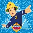 FARO Čarobni ručnik vatrogasac Sam plavi pamuk - frotir, 30/30 cm Ručnici, ponchos, ogrtači - magic maramice