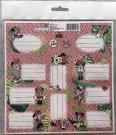 BENIAMIN Minnie samoljepljive etikete Papir, 20x20 cm Za škole i vrtiće - naljepnice za vježbe