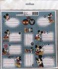BENIAMIN Samoljepljive naljepnice Mickey Papir, 20x20 cm Za škole i vrtiće - naljepnice za vježbe