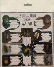 BENIAMIN Samoljepljive etikete Wild Paper, 20x20 cm Za škole i vrtiće - naljepnice za vježbe