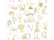 Dječja flis tapeta LO2302 | Little Ones | Ljepilo besplatno Grandeco
