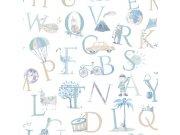 Dječja flis tapeta LO2301 | Little Ones | Ljepilo besplatno Grandeco