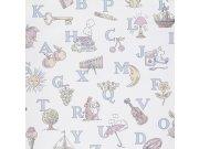 Dječja flis tapeta za zid LL3104 | Jack´N Rose by Woodwork | Ljepilo besplatno Grandeco