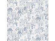 Dječja flis tapeta za zid LL-05-07-4 | Jack´N Rose by Woodwork | Ljepilo besplatno Grandeco