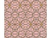 37049-6 Luksuzna zidna flis tapeta Versace 4   0,70 x 10,05 m  Ljepilo besplatno AS Création