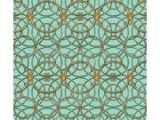 37049-7 Luksuzna zidna flis tapeta Versace 4   0,70 x 10,05 m  Ljepilo besplatno AS Création