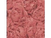 Zidna flis tapeta Freundin 464245, stara ljubičasta ruža | Ljepilo besplatno Rasch