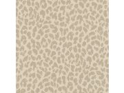 Zidna flis tapeta Freundin 465006, krema s motivom geparda | Ljepilo besplatno Rasch