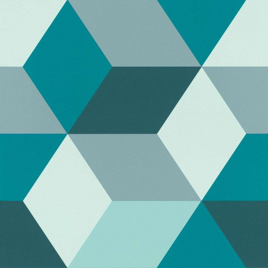Zidna flis tapeta grafički dizajn Sansa 638110 | Ljepilo besplatno - Rasch