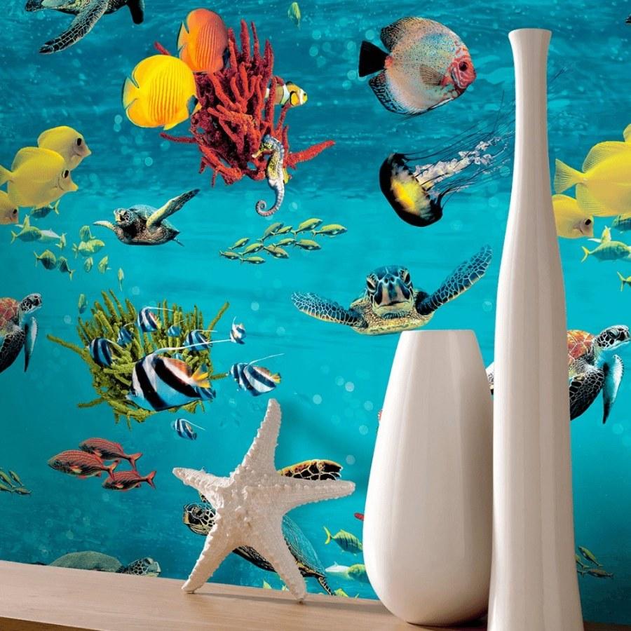 Papirnata zidna tapeta Morski svijet Sansa 310405   Ljepilo besplatno - Rasch