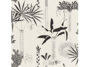 Flis tapeta za zid Club Botanique 540031 | Ljepilo besplatno Rasch