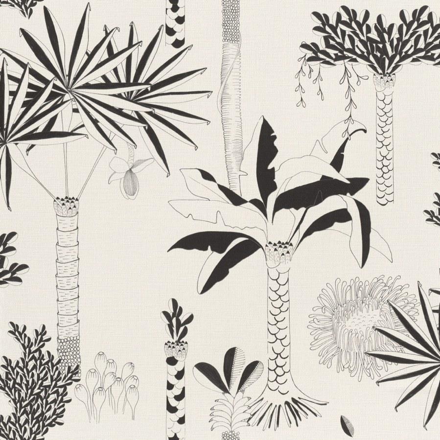 Flis tapeta za zid Club Botanique 540031 | Ljepilo besplatno - Rasch