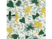 Flis tapeta za zid Club Botanique 540130 | Ljepilo besplatno Rasch