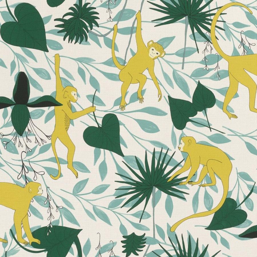 Flis tapeta za zid Club Botanique 540130 | Ljepilo besplatno - Rasch