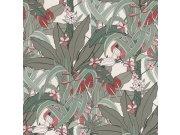 Flis tapeta za zid Club Botanique 538915 | Ljepilo besplatno Rasch