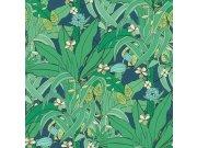 Flis tapeta za zid Club Botanique 538922 | Ljepilo besplatno Rasch