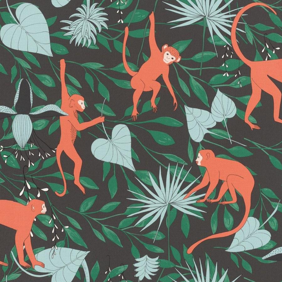 Flis tapeta za zid Club Botanique 540147 | Ljepilo besplatno - Rasch