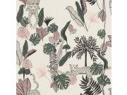 Flis tapeta za zid Club Botanique 540338 | Ljepilo besplatno Rasch
