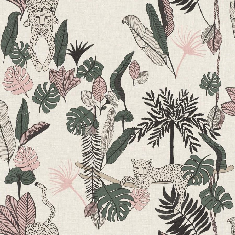 Flis tapeta za zid Club Botanique 540338 | Ljepilo besplatno - Rasch